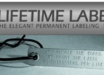 Product Lifetime Label – including Tie – for existing plants in your garden
