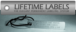 Product Lifetime Label – including Tie – ORDER with your plant purchase