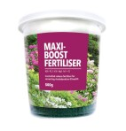 Product Maxi-Boost Fertiliser 500gm Pottle